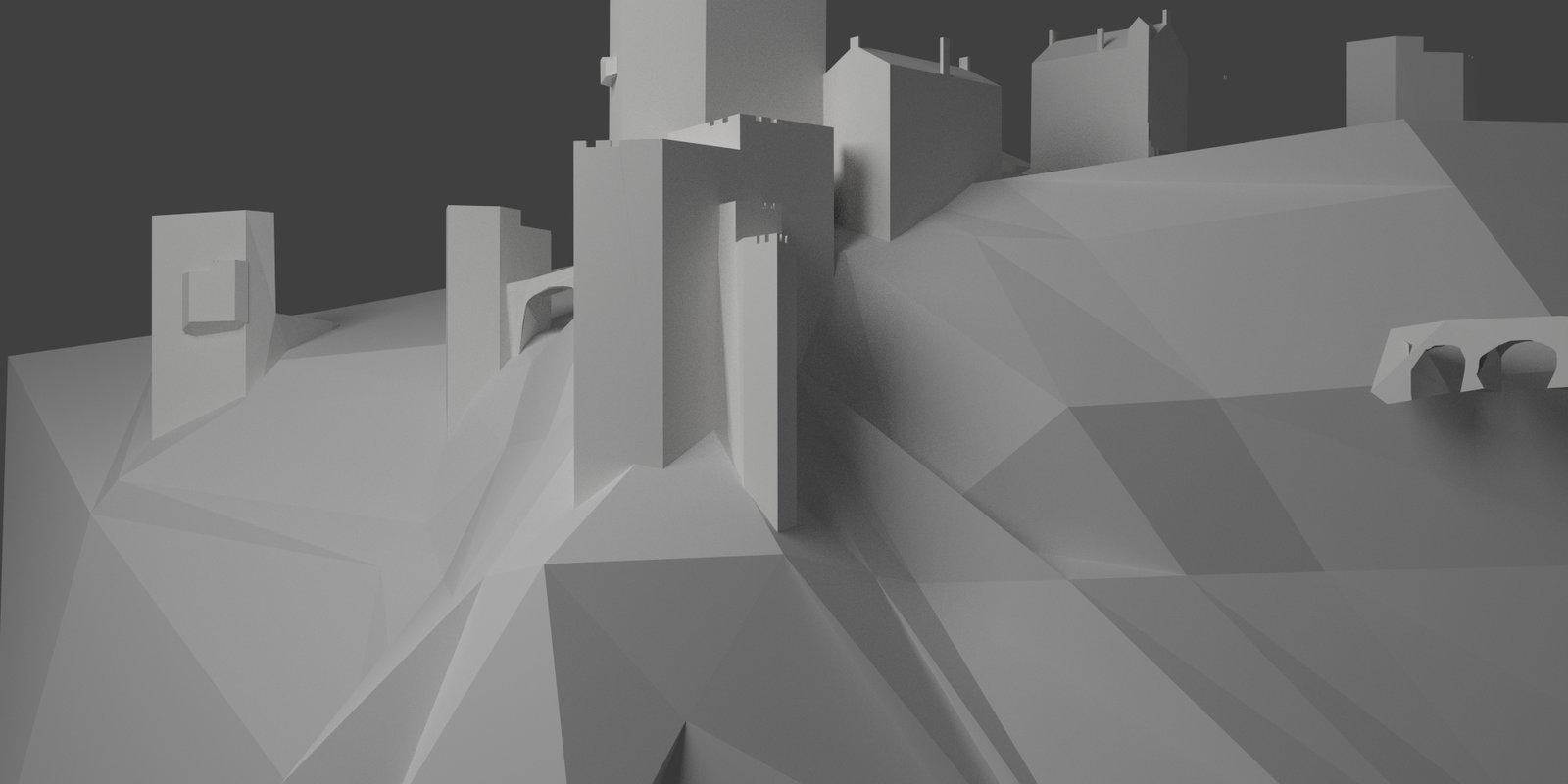3D Base rendered in Blender