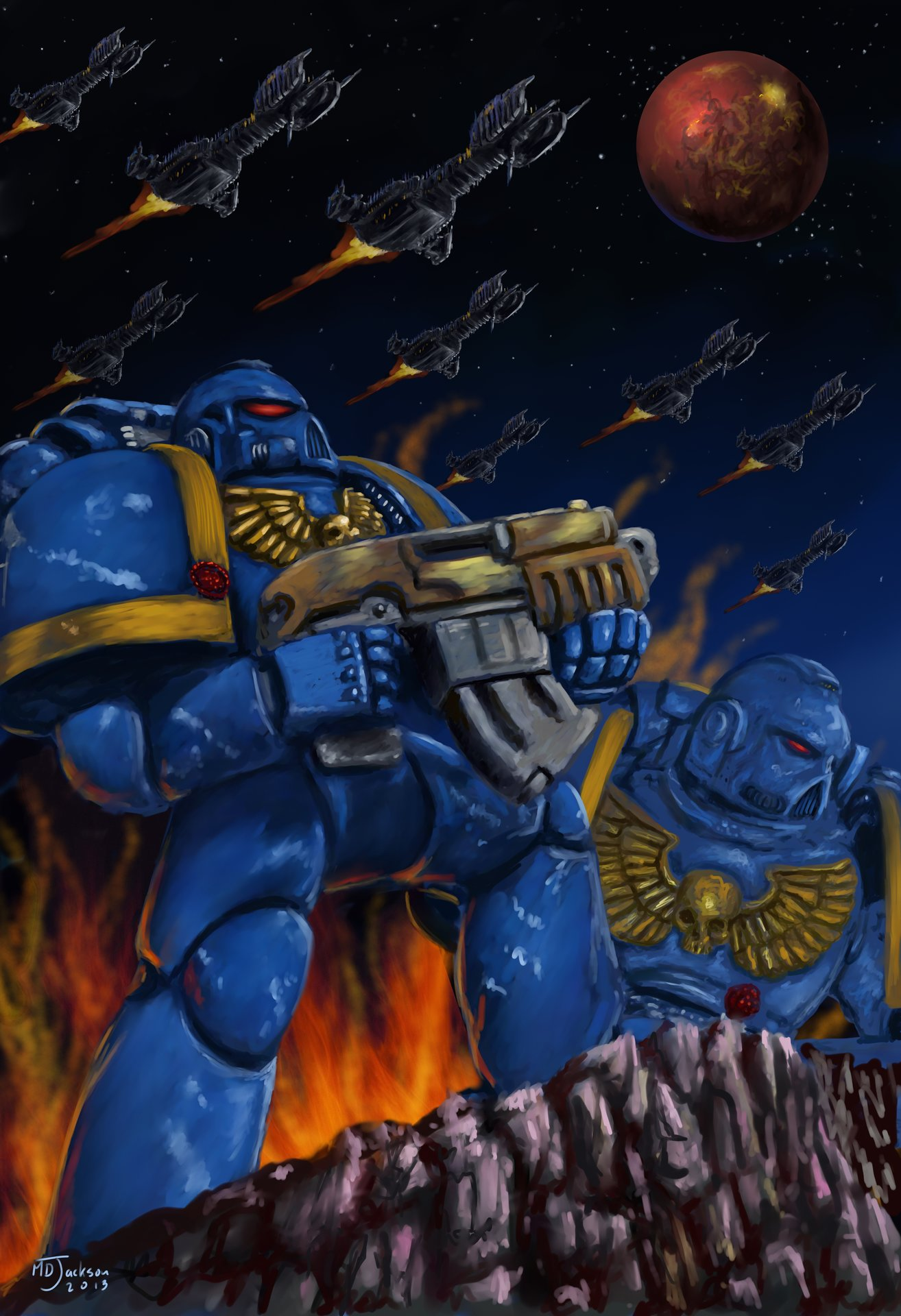 Md jackson warhammer 40000