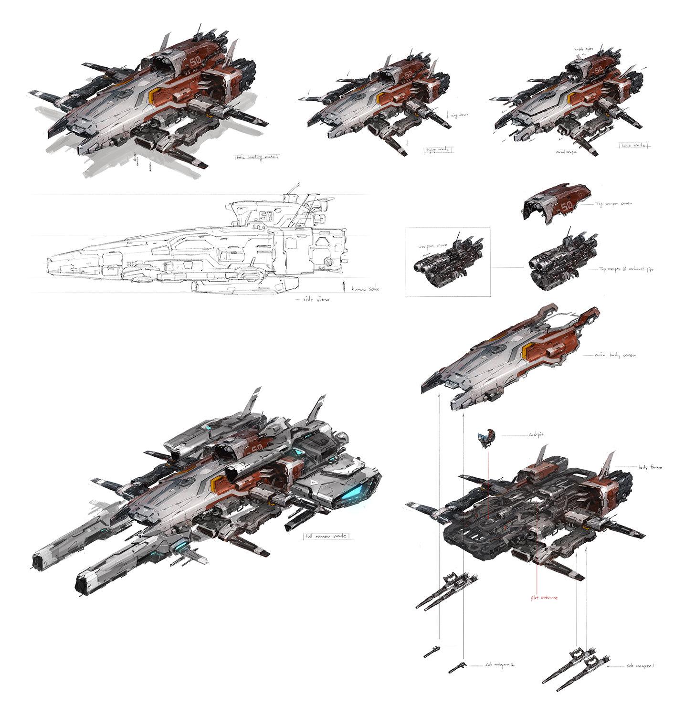 J c park space ship concept006 1