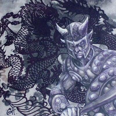 Grey hash dragonwarrior