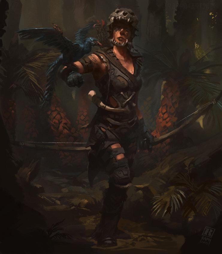 Raph lomotan huntress3