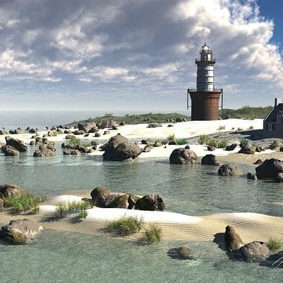 Timothy klanderud timz beach new lighthouse