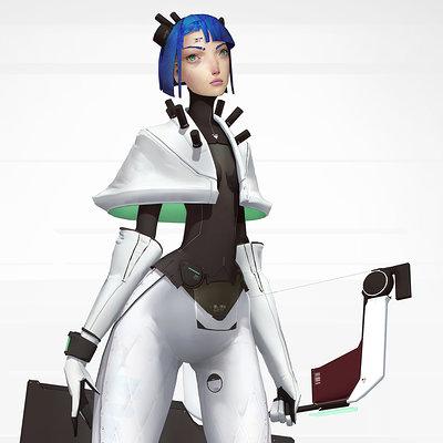 Mikhail rakhmatullin archer girl sci fi 5