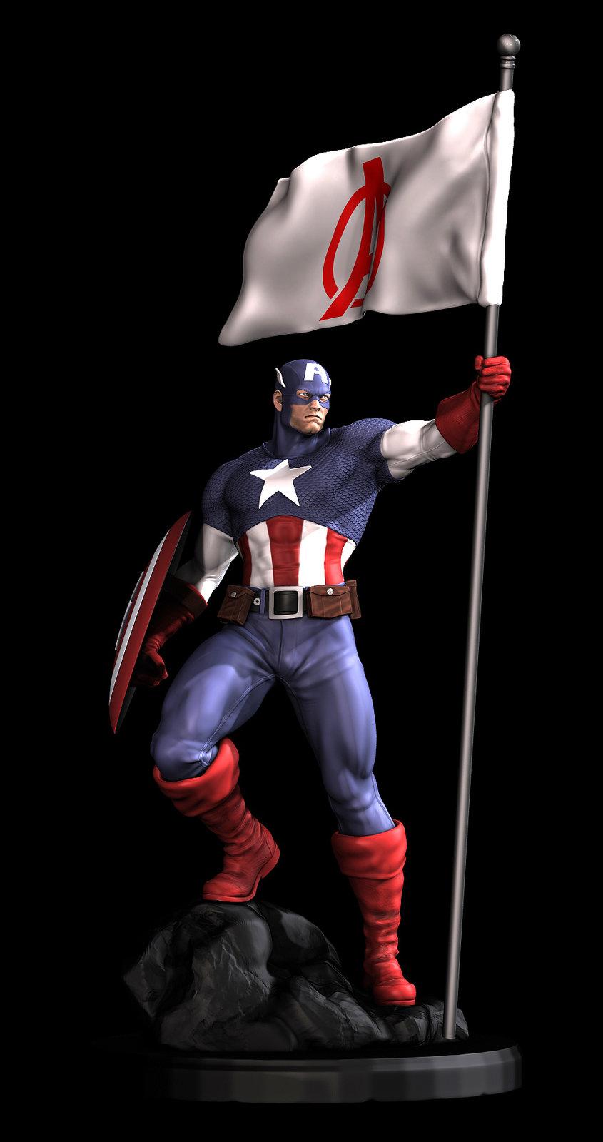 Captain America - XM Studios