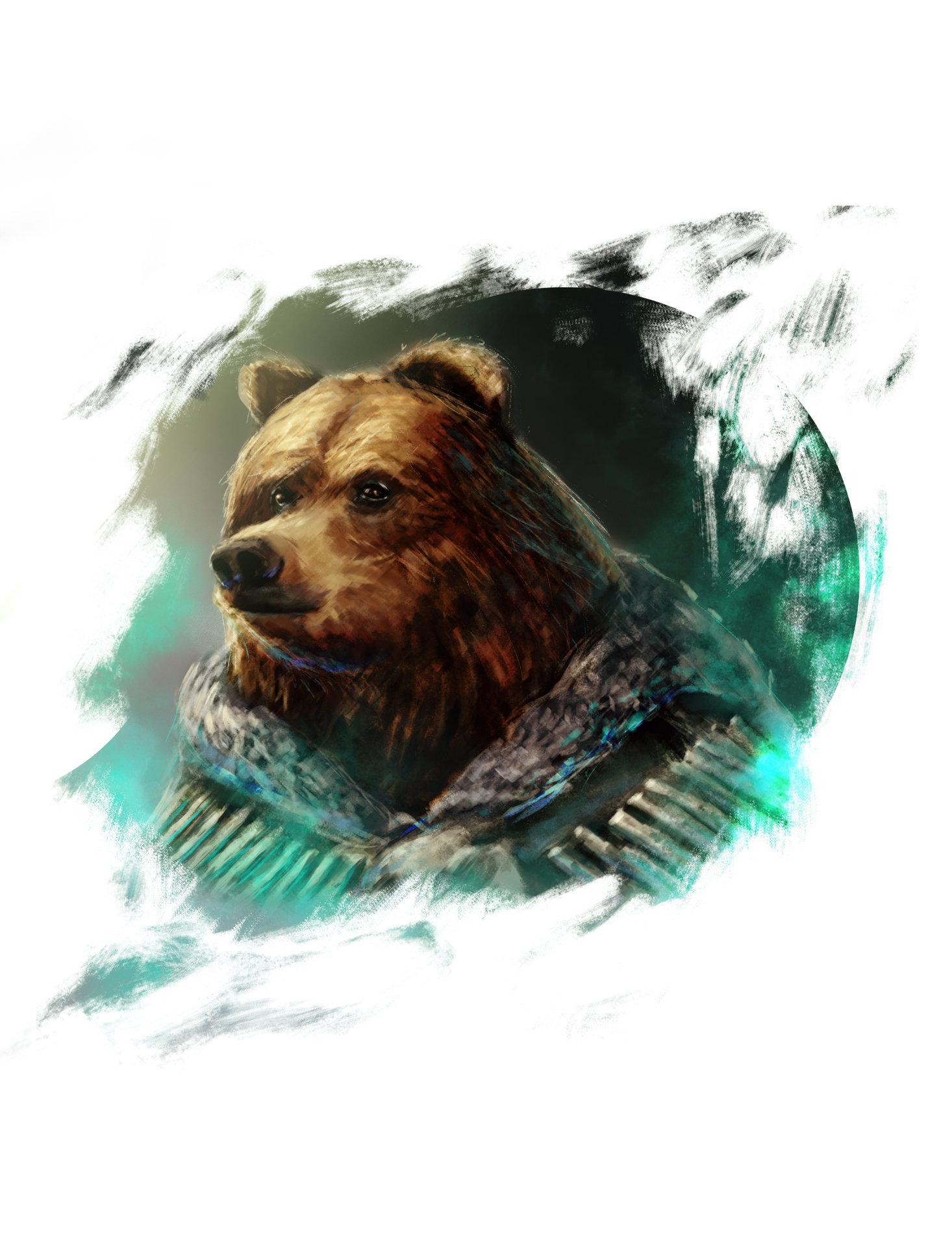 Konrad langa bear bone