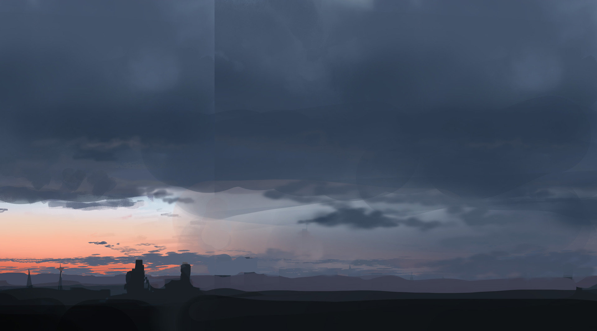 Viktor jonsson study sunset