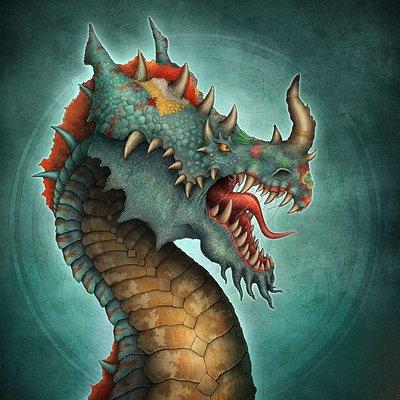 Aishwaary anant indian dragon