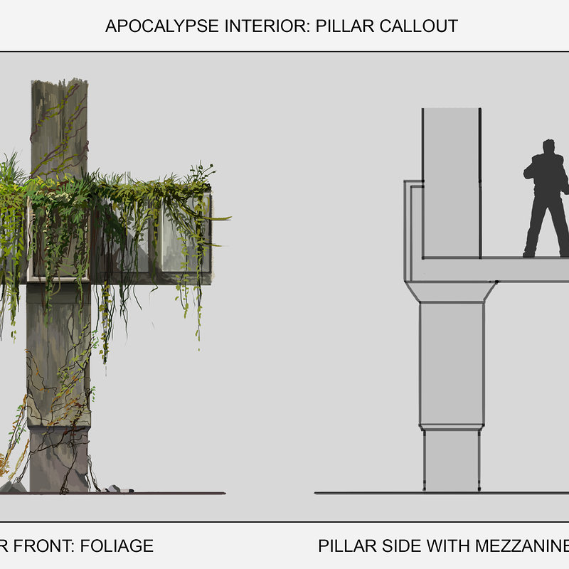 Apocalyspe Train Station Pillar Callout