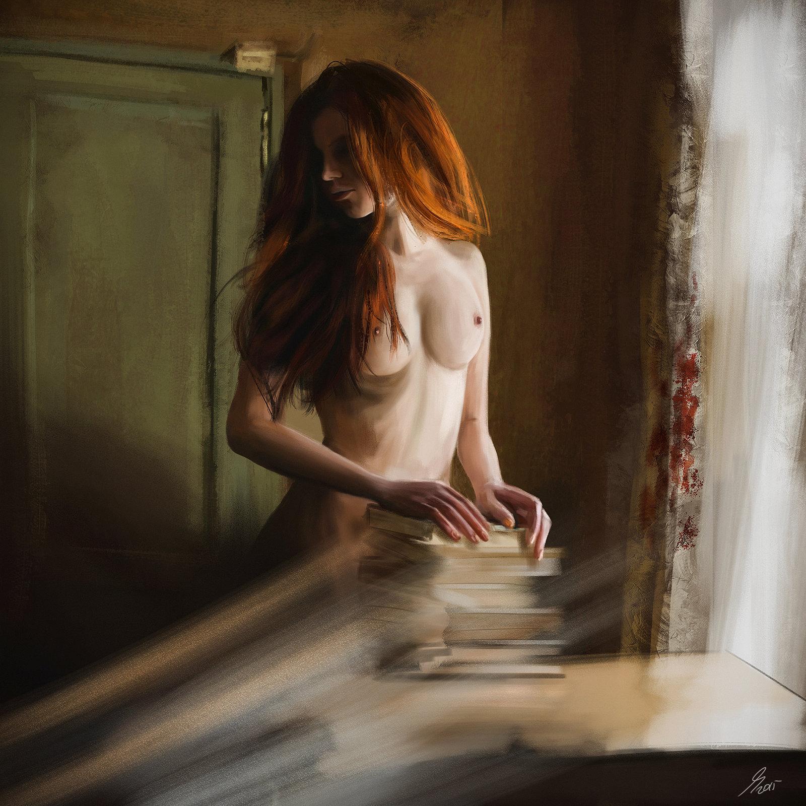 Redhead Nude Study
