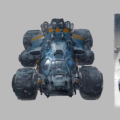 J c park land vehicle concept 002 1b