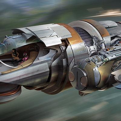 Krzysztof bielenin spaceship23