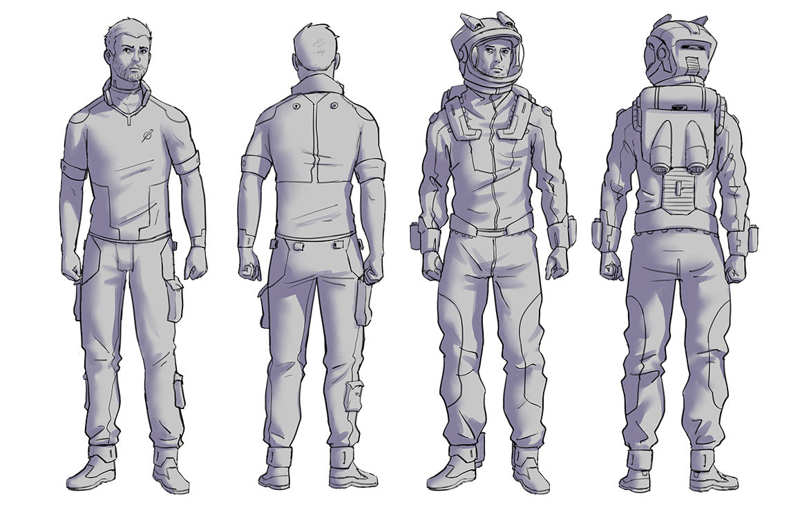 Sylvain sarrailh spacesuitpreview