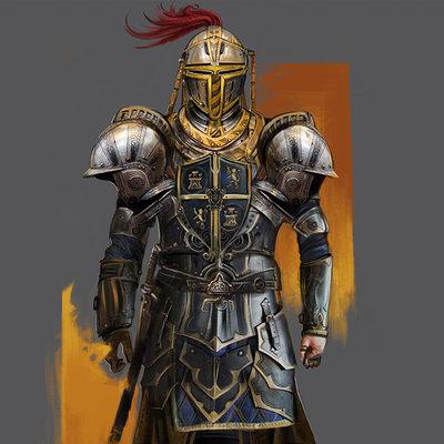 Josiah herman knightpainting
