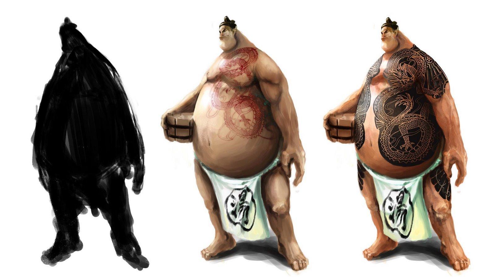 Yakuza +sumo