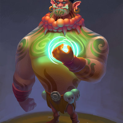 shaman by chepurkoandrew d8ht3ft