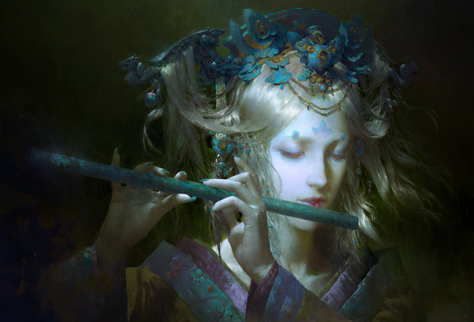 Ruan jia rondo of moon