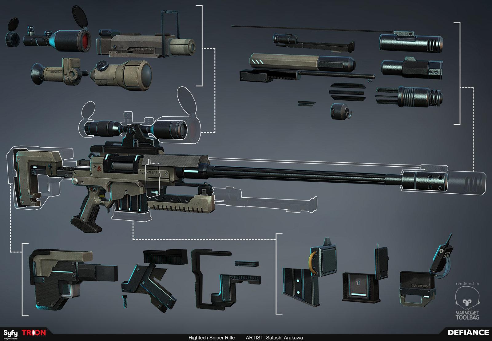 Satoshi arakawa wep hightech rifle
