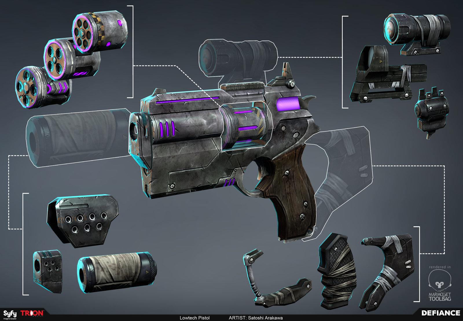 Satoshi arakawa wep lowtech pistol