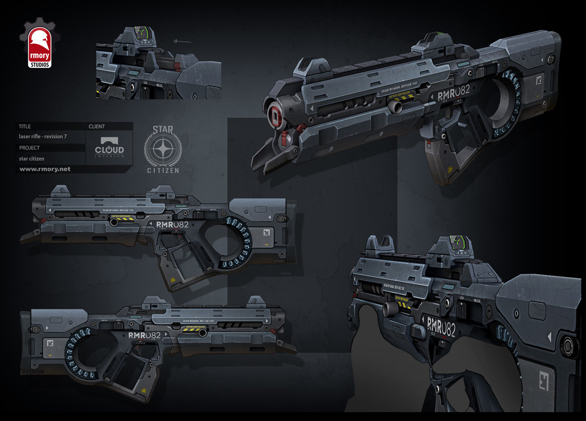 Star Citizen - laser rifle