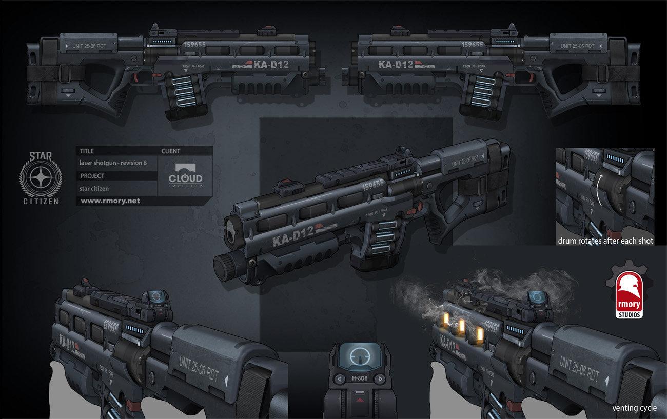 Star Citizen - laser shotgun