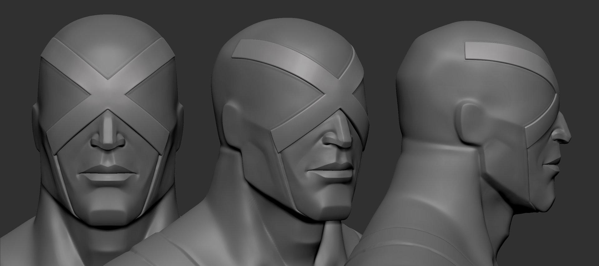 Robert fink xfacecyclops turnaround face