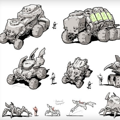 Hethe srodawa alien vehicles