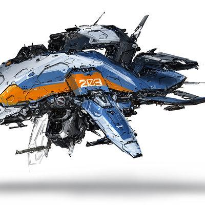 J c park space ship concept d