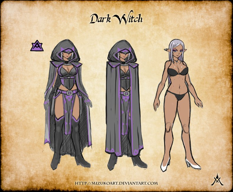 Emma salamanca dark witch conceptart