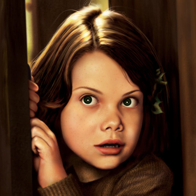 Georgie Henley.