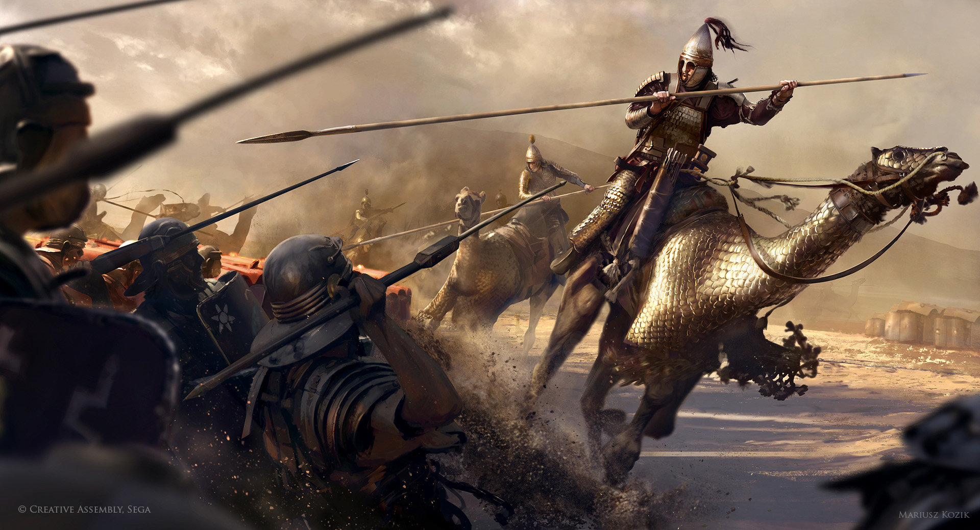 Diario semanal de desarrollo de Bannerlord 27: Caballería a Camello Mariusz-kozik-camels-cataphract