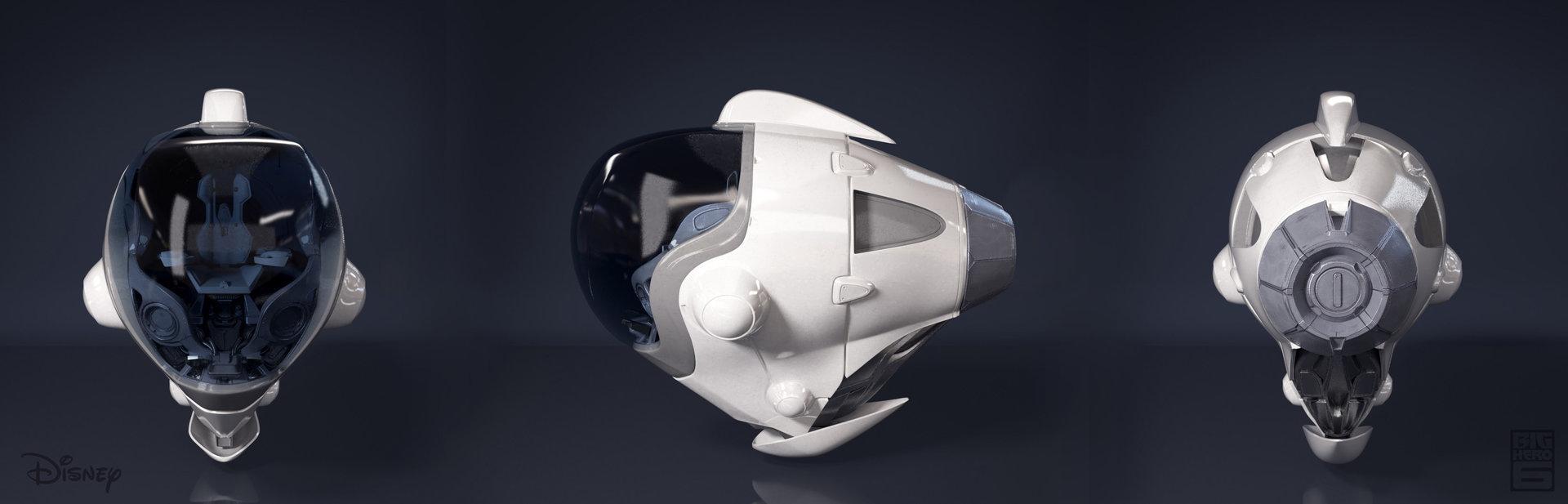 Space Pod Exterior