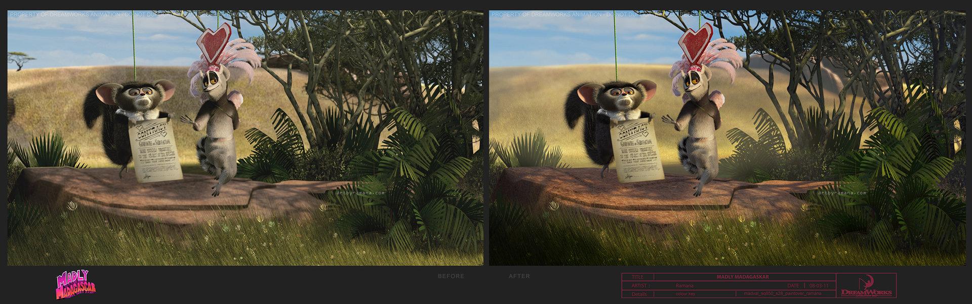 ArtStation - Madly Madagascar   Mattepainting&Lighting enhancements