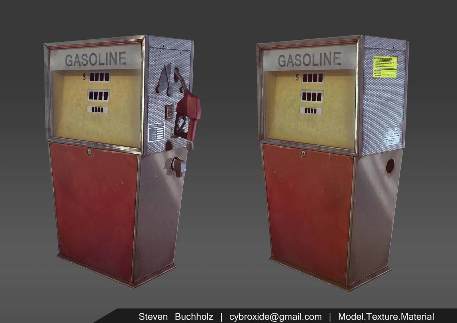 70s Gas Pump