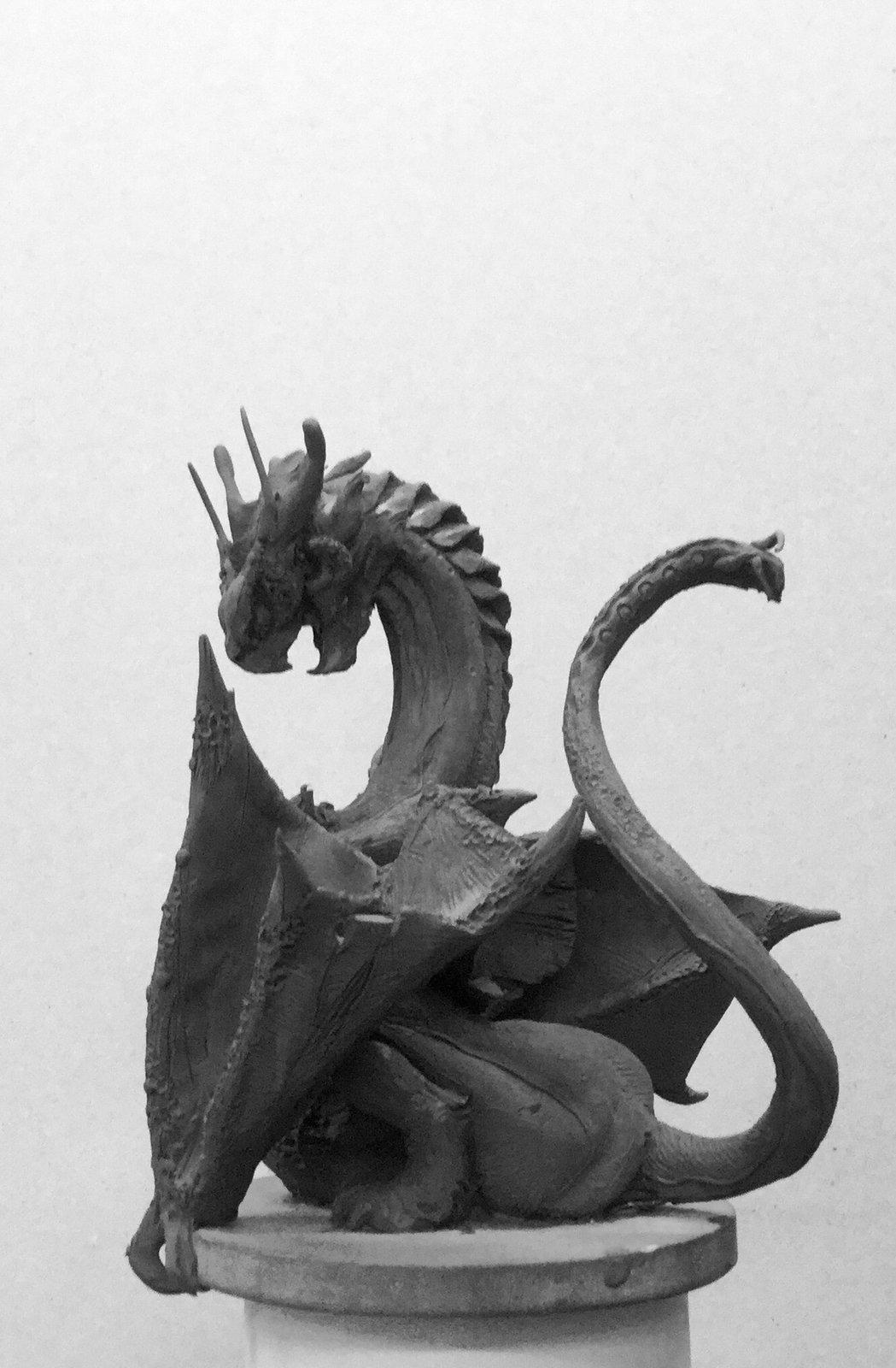 Dragon concept sketch.