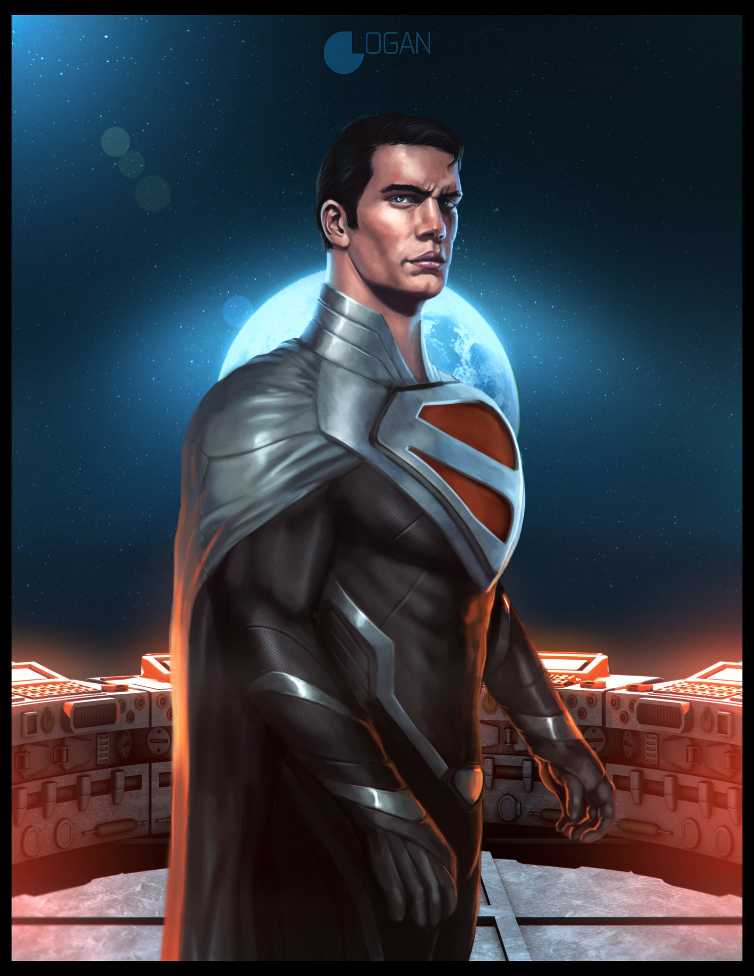 Charles logan superman justice lord full