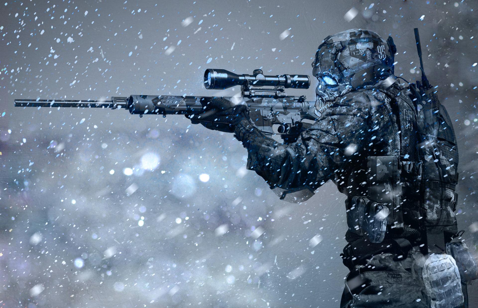 Oleg danilenko arctic sniper by olegdaniel d6ymnqa