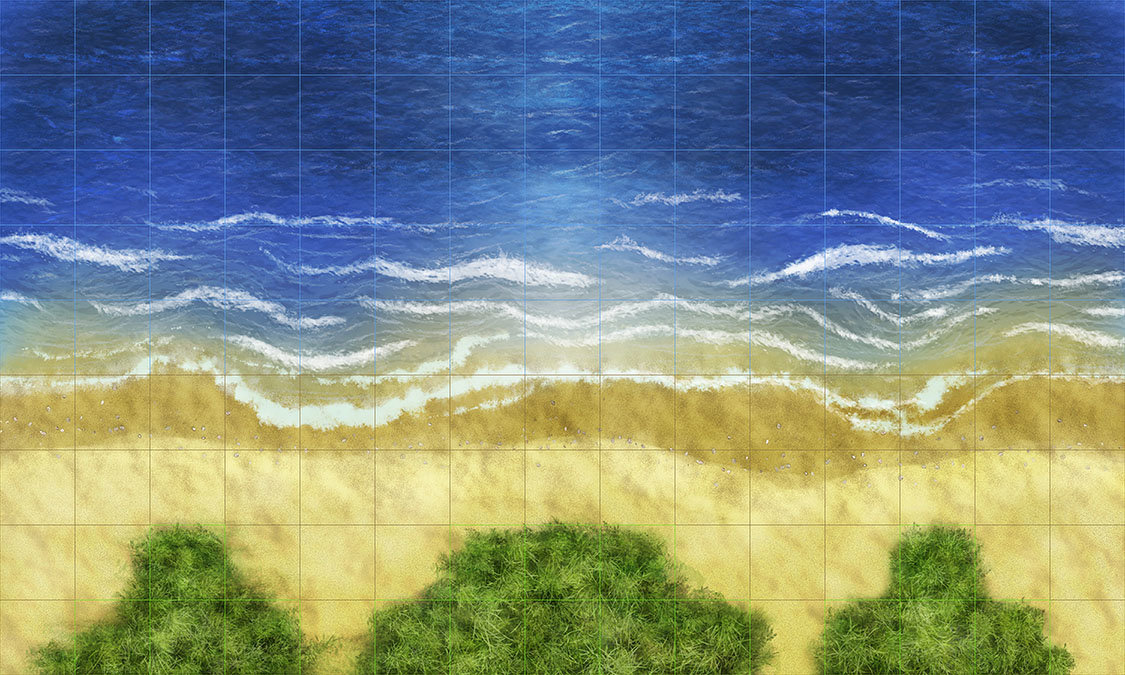 "Game map ""Beach"""