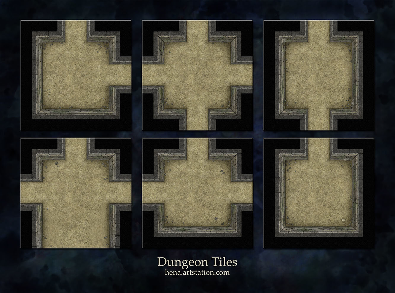 Karin wittig dungeon tiles as