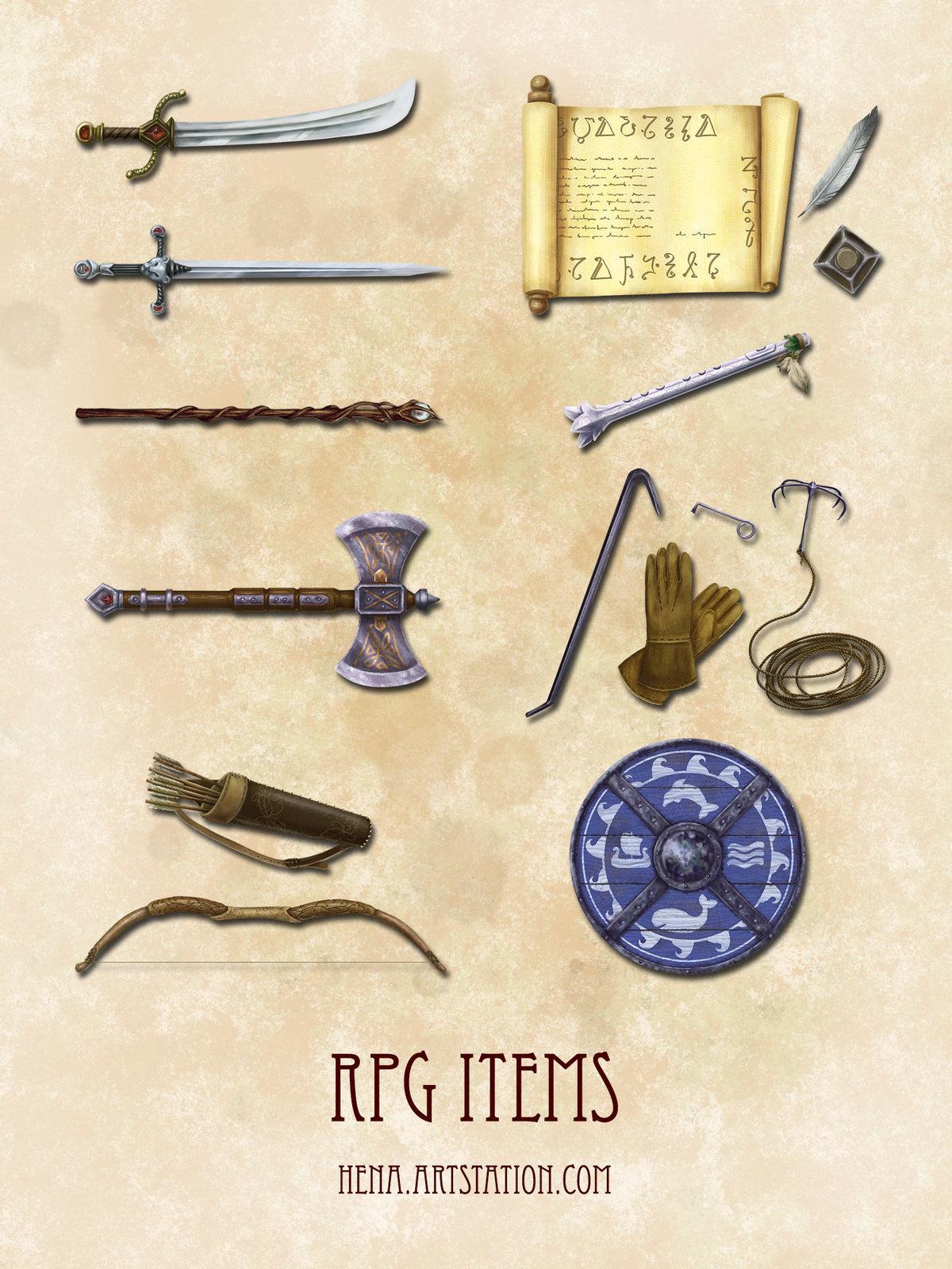DSA: RPG Items