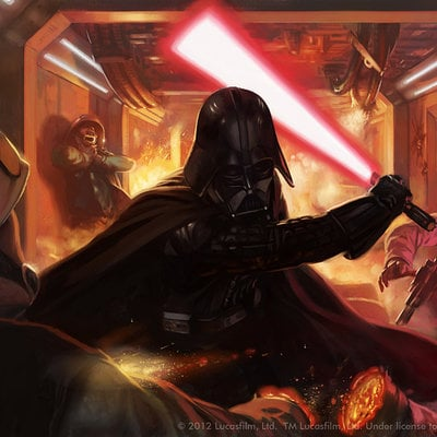 Jake murray jake murray swlcg vader logo