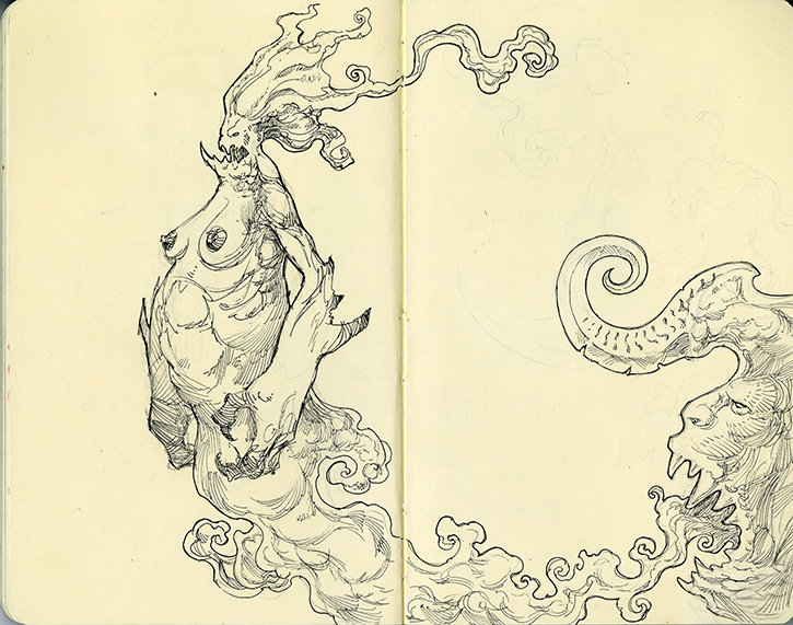 Moleskine Monster 1
