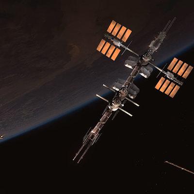 Florent llamas space station