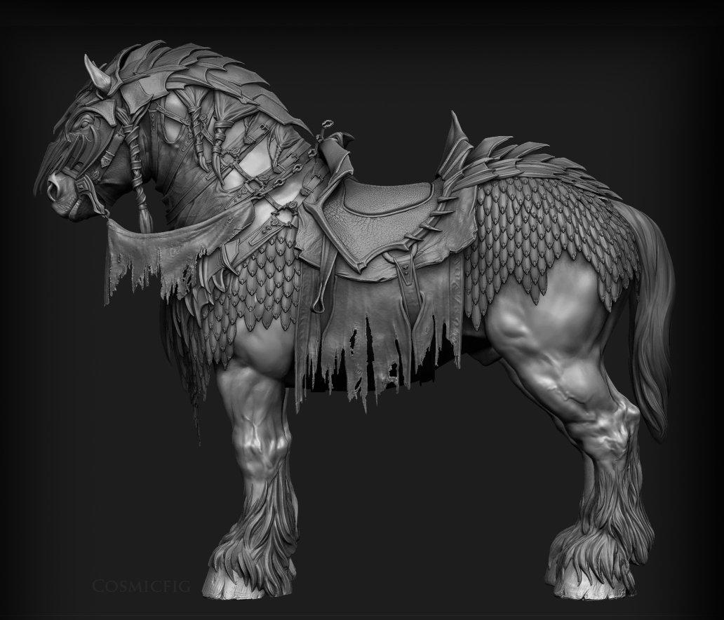 M Walling Warhorse