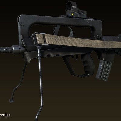 Ryan bullock weapon oc famas textured02