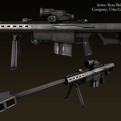 Ryan bullock weapon oc ferrett textured01