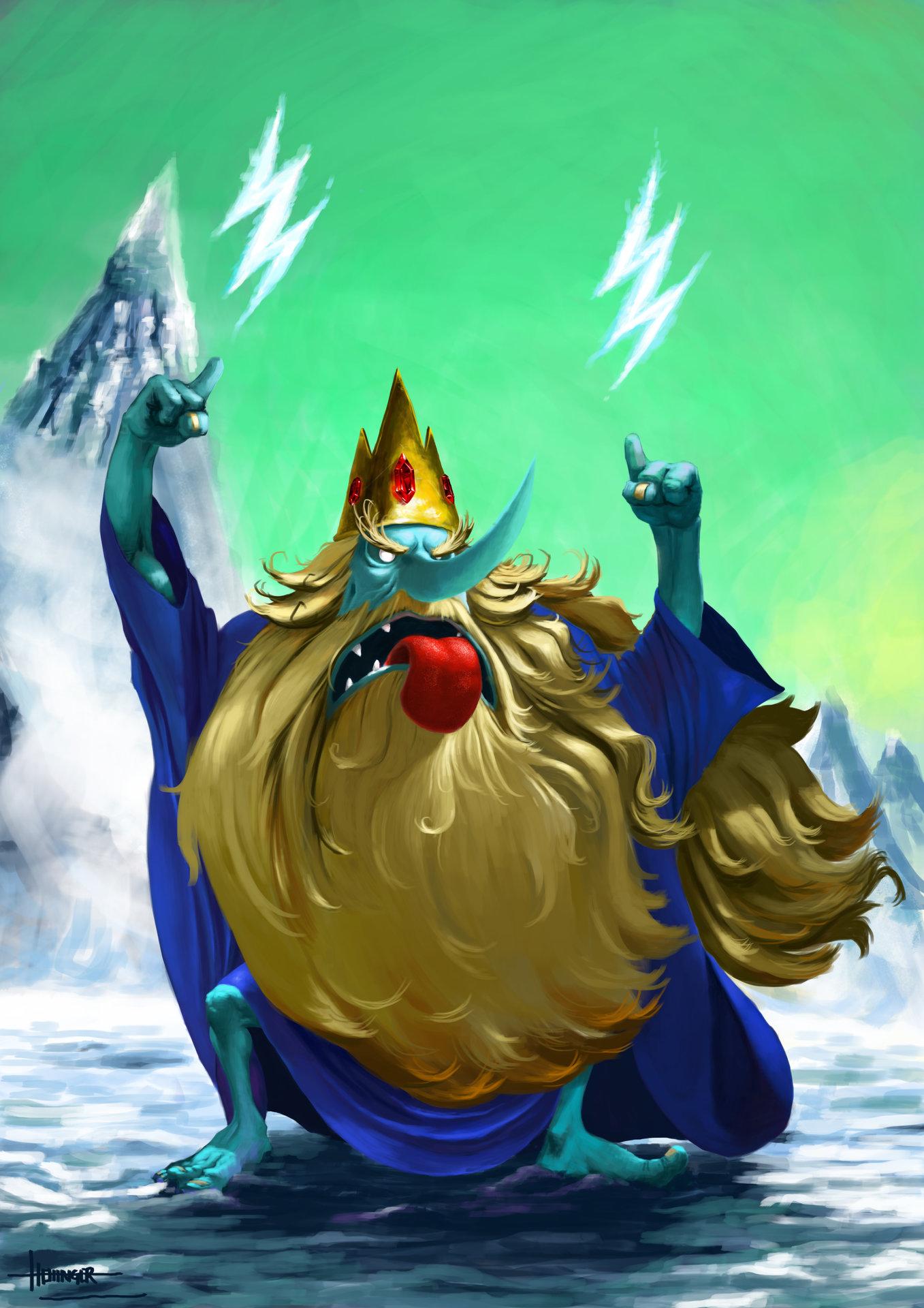 Thiago hellinger ice king final