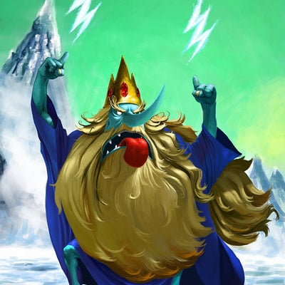 Thiago hellinger ice king final