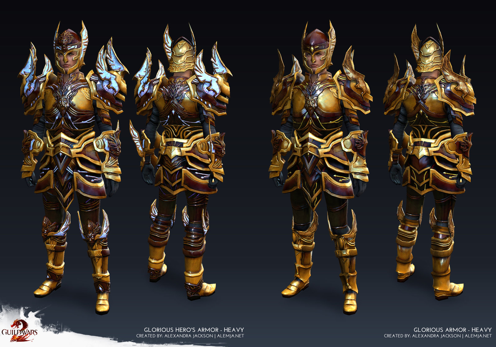 Guild Wars 2 - Heavy Male Glorious Armor
