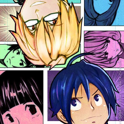 Chris house bakuman by rikyo