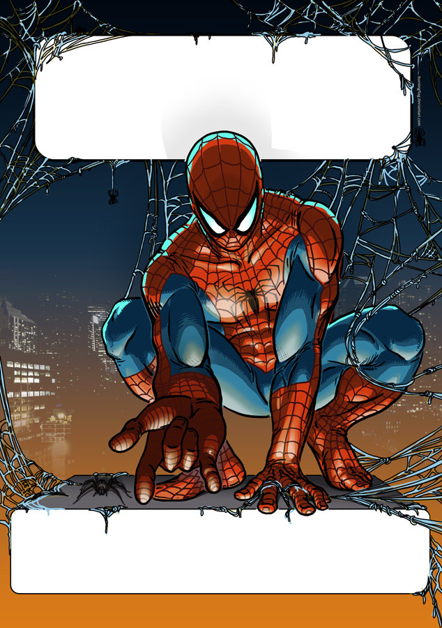 Martin plsko spider man at night by burningflag d6cij42